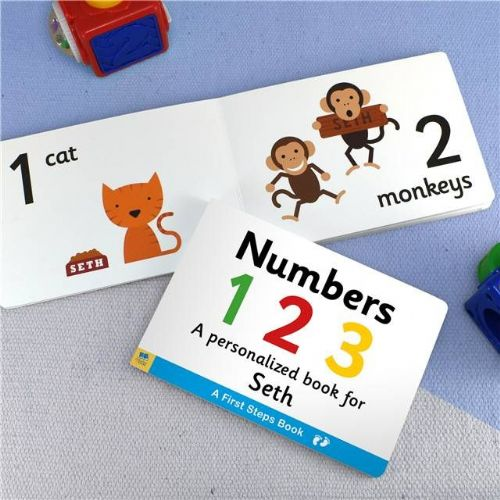 Personalised Learn Numbers Book for Toddlers